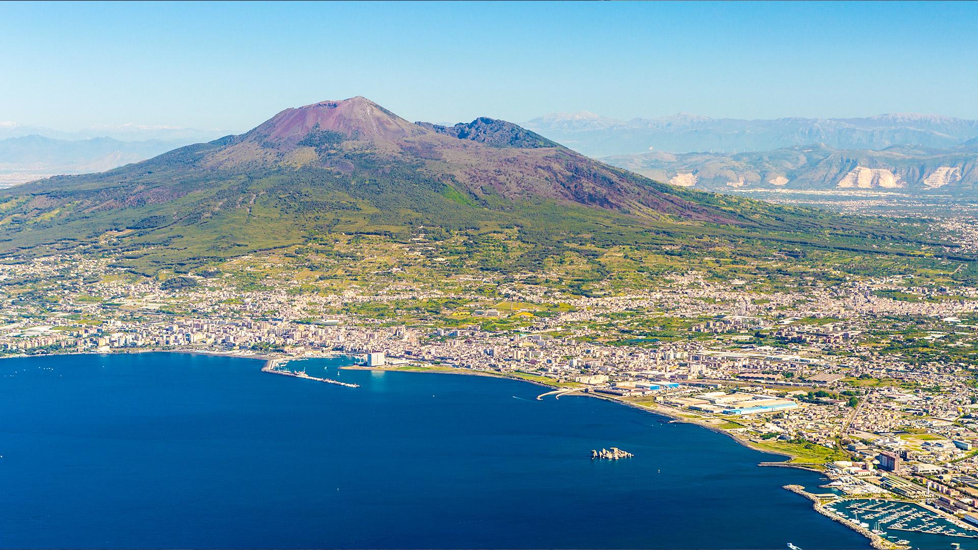 Vesuvius Campania Tourism